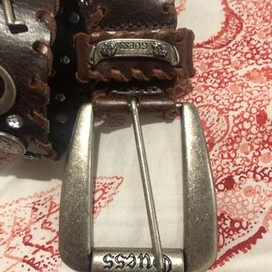 Guess Accessories - GUESS bling leather belt NWOT